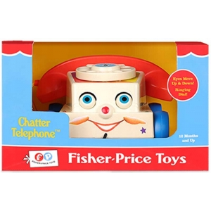 FISHER PRICE RETRO TELEFON CHATTER TELEPHONE TOY