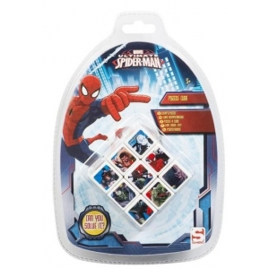 KOSTKA LOGICZNA SPIDERMAN 3D PUZZLE CUBE MARVEL